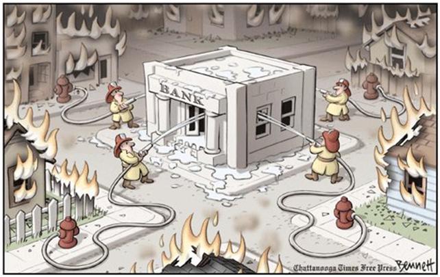 firemen bank