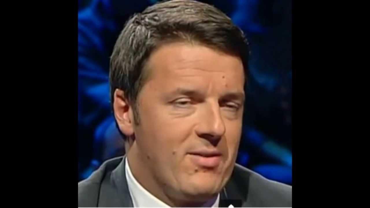 Matteo Renzi: è da TSO (Trattamento Sanitario Obbligatorio)….