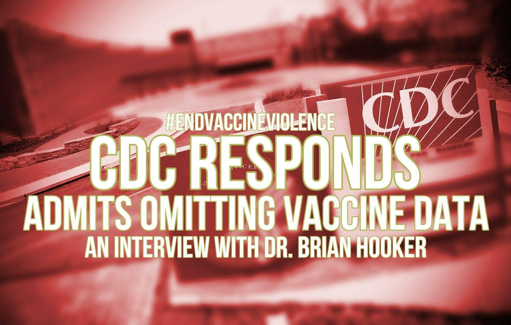 Vaccini e autismo: beccato il CDC !